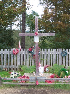 New Forest Canadian War Memorial Cross
