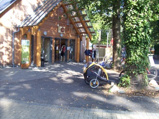 New Forest Sandy Balls Cycle Reception