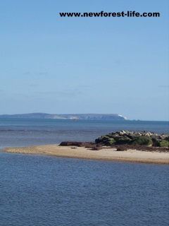 New Forest Mudeford towards I.O.W