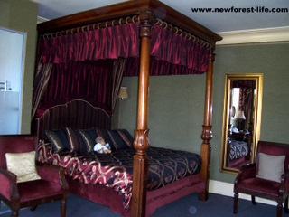 New Forest Balmer Lawn Hotel 4 Poster