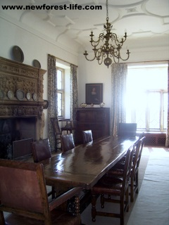 New Forest Breamore House table