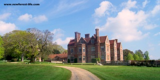 New Forest Breamore House - a great place to be housed in WW2