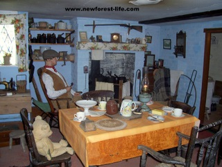 New Forest Breamore House Countryside Museum Cottage