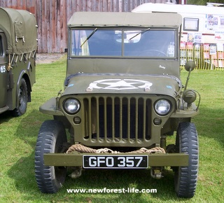 New Forest WW2 Jeep at Beaulieu