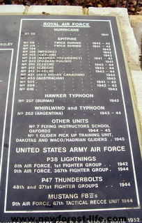 New Forest WW2 Ibsley aircraft and crew list info