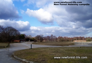 Holmsley caravan park and Ccampsite New Forest