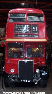 New Forest Motor Museum RT London Bus