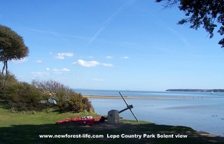 New Forest Lepe Country Park War memorial