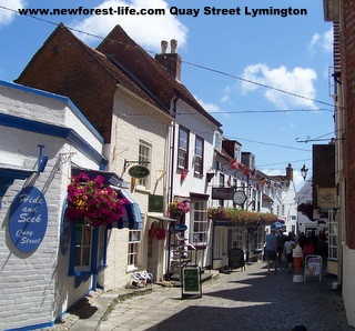 New Forest Lymington Quay Street