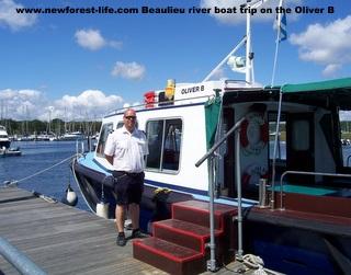 New Forest Beaulieu river trips