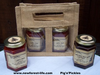 New Forest Farmers Market PignPickles Gift Set