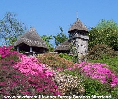 New Forest Furzey Gardens Typhoon Towe
