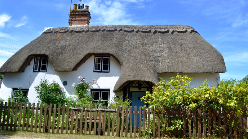 New Forest thatched cottage for sale