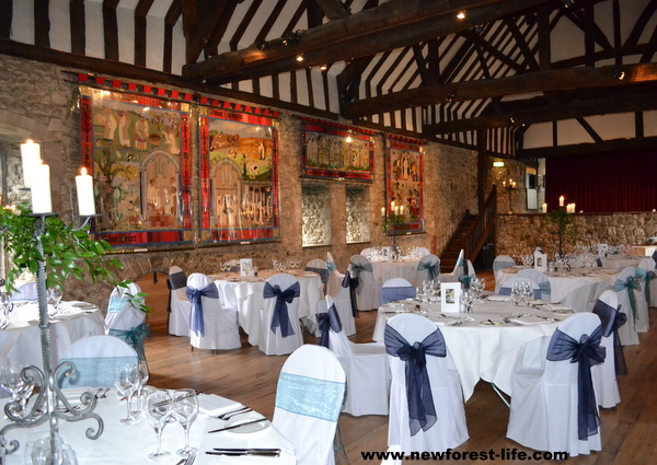 New Forest Wedding Venue The Domus At Beaulieu