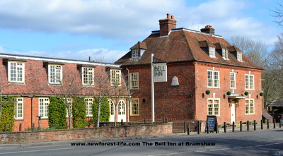 New Forest Bell Inn Bramshaw