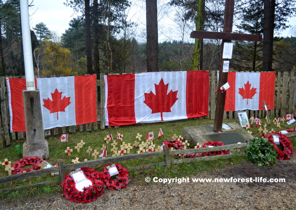 New Forest Canadian War Memorial