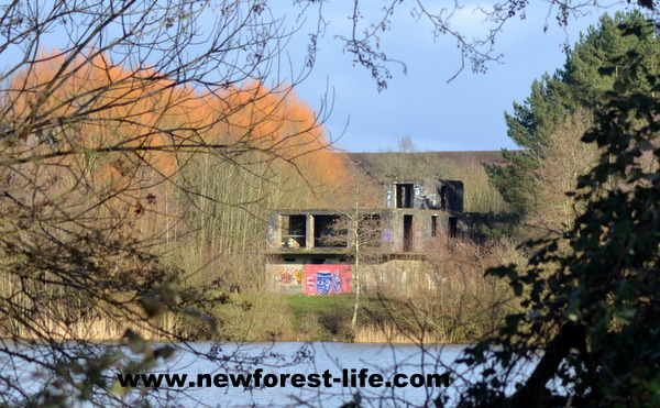 New Forest Ibsley Control Tower from WW2
