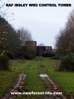 New Forest RAF Ibsley Tower remains