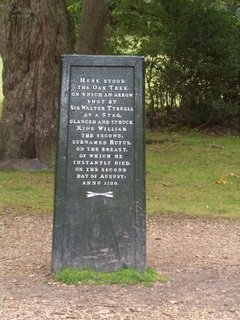 New Forest Rufus Stone Site