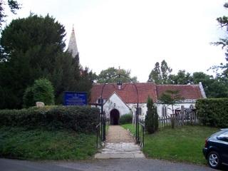 New Forest graves at St nicholas Church Brockenhurst