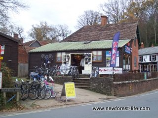 New Forest Bike Hire Burley