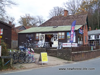 New Forest Cycle Hire Burley