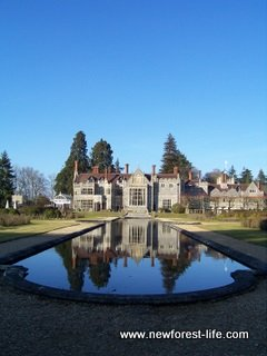 New Forest Rhinefield House Hotel rear view