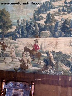 New Forest Breamore House-a Brussels Tapestry