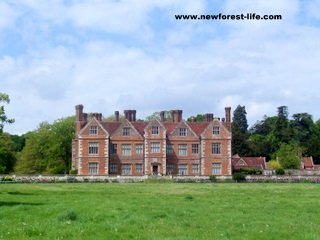 New Forest Breamore House front