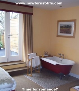 New Forest Hotel TerraVina bathtime luxury?