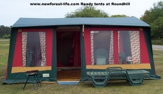 New Forest Roundhills Ready Tent with BBQ