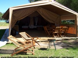 New Forest Holmsley Safari Tent