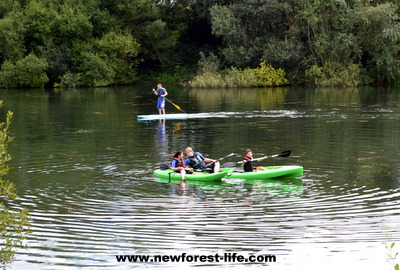 New Forest Water Park Stand Up Paddle Board and Kayaking