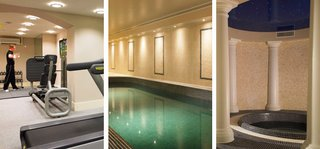 Rhinefield Spa offers stunning relaxation and fitness area