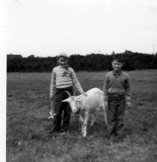 New Forest-my husband as a child at Bucklers Hard