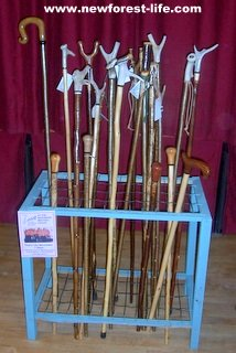 New Forest walking stick made for you